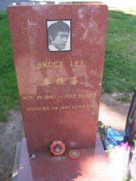 Bruce Lee's gravesite