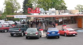Dicks drive-in restaurant