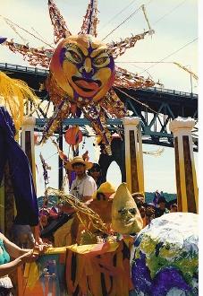 Fremont Solstice Parade Float