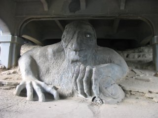 Fremont Troll Bridge