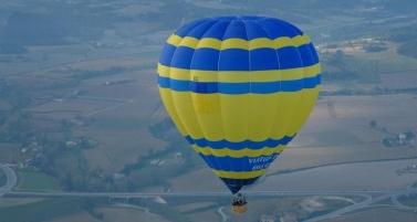Ir de paseo en un globo aerostático