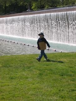 Bellevue City Park Waterfall