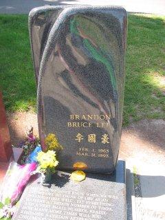 Brandon Lee grave