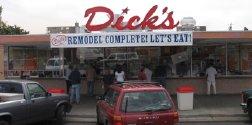 Dicks hamburgers