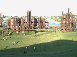 Gasworks Park in Fremont