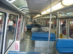 Inside the Seattle Center Monorail