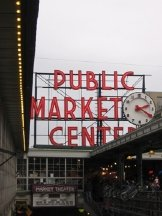 The Pike Place Market is always a great destination.